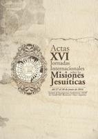 Tapa Actas XVI Jornadas sobre las Misiones Jesuíticas