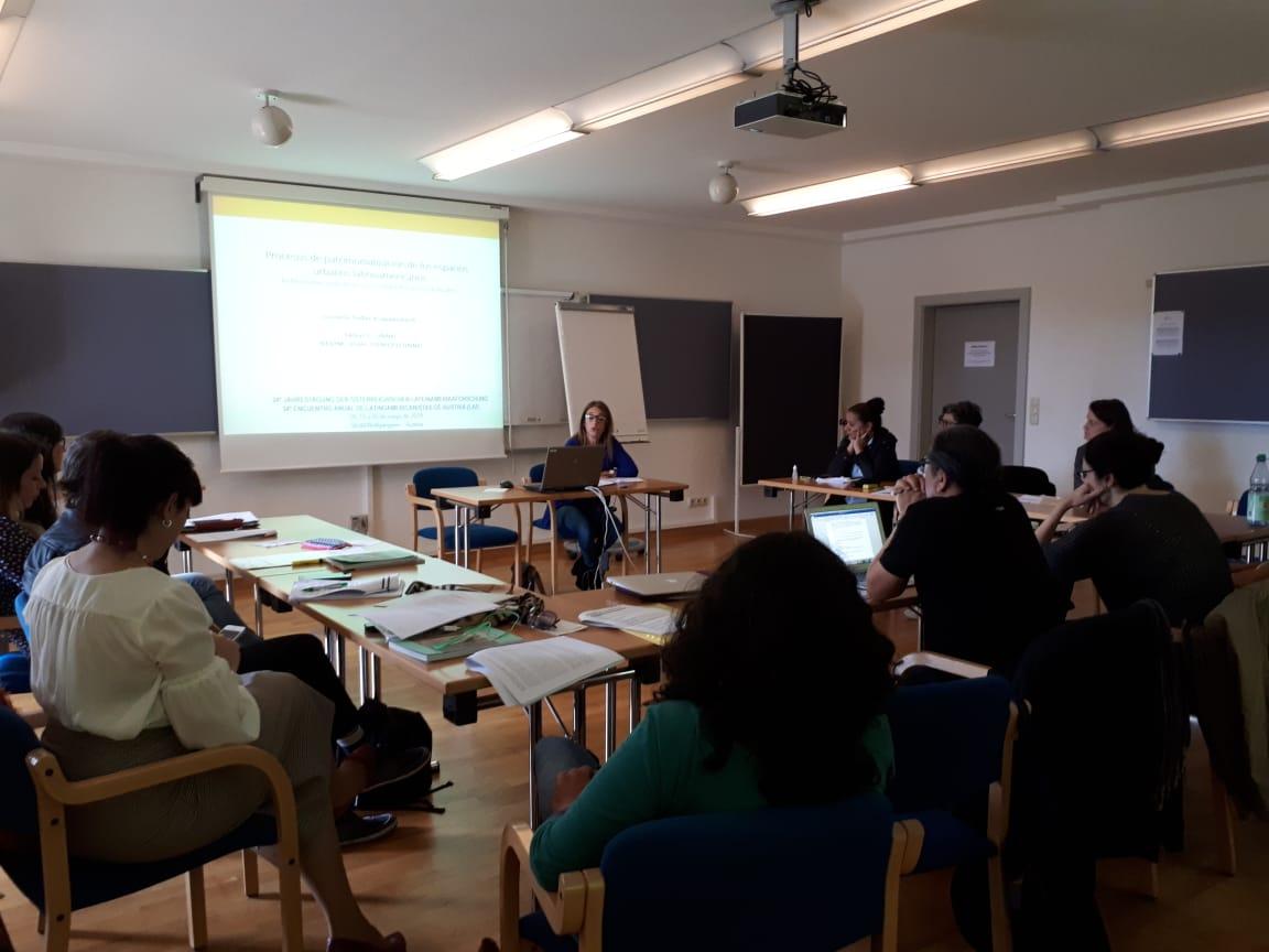 Investigadores del IIGHI expusieron en el Congreso de Latinoamericanistas en Austria