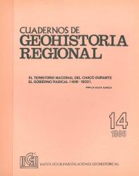 tapa cuadernos de geohistoria regional 14