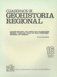 tapa cuadernos de geohistoria regional 16