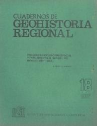 tapa cuadernos de geohistoria regional 18