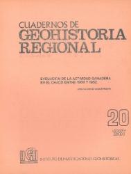 tapa cuadernos de geohistoria regional 20